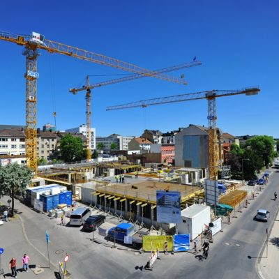 Liebherr Turmdrehkrane Königstor Wedekind Kassel