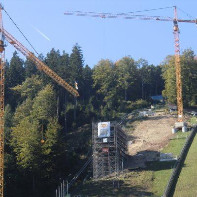 Liebherr Turmdrehkrane Willingen Skisprungschanze Wedekind Kassel